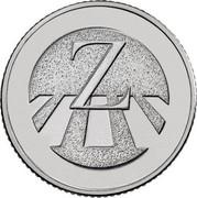 UK Ten Pence (Z - Zebra Crossing) Z coin reverse