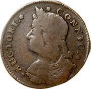 USA Connfc. 1787 KM# 8.6 Connecticut Coppers * AUCTORI. * *CONNFC. * coin obverse