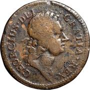 USA Halfpenny 1722 KM# 3 Rosa Americana GEORGIUS • DEI • GRATIA • REX • coin obverse