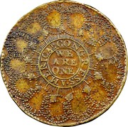 USA Continental Curency Dollar 1776 KM# EA4 AMERICAN. CONGRESS ∙ WE ARE ONE coin reverse