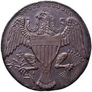 USA Half Dollar 1792 KM# Tn64 Washington Pieces UNUM E PLURIBUS coin reverse