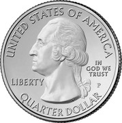 USA Quarter Dollar Olympic National Park 2011 P KM# 496 UNITED STATES OF AMERIKA IN GOD WE TRUST QUARTER DOLLAR LIBERTY coin obverse