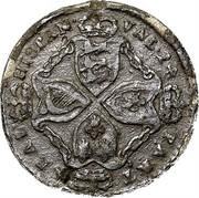 USA Real Val 24 American Plantations (Horizontal 4) 1688 KM# Tn5.3 REAL HISPAN VAL 24 PAKT coin reverse