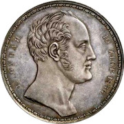 Russia 1-1/2 Roubles - 10 Zlotych Imperial Family 1836 C# 172.1 1 ½ РУБЛЯ. 10 ZŁOT. 1836 П. У. coin obverse