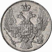 Russia 12 Roubles 1830 СПБ C# 179 EMPIRE STANDARD COINAGE coin obverse