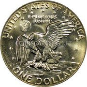 USA Dollar 1977-8 KM# A203 Circulation Coins UNITED STATES OF AMERICA ONE DOLLAR E PLURIBUS UNUM coin reverse