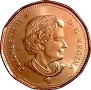 Canada Dollar Loonie 2012 Maple leaf Proof KM# 495 ELIZABETH II D ∙ G ∙ REGINA coin obverse