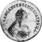 Russia Ducat 1749 C# 31.2a EMPIRE TRADE COINAGE coin obverse