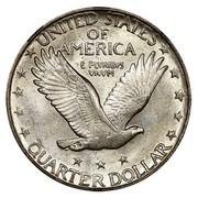USA Quarter Standing Liberty 1926 D KM# 145 UNITED STATES OF AMERICA QUARTER DOLLAR E PLURIBUS UNUM coin reverse