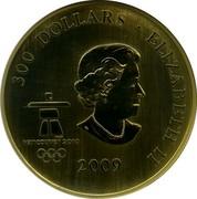 Canada 300 Dollars Friendship 2009 Proof KM# 911 300 DOLLARS ∙ ELIZABETH II 2009 coin obverse