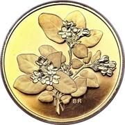 Canada 350 Dollars Nova Scotia Mayflower 2001 Proof KM# 433 BR coin reverse