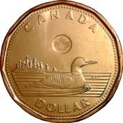Canada Dollar Loonie 2012 KM# 1255 CANADA RRC DOLLAR coin reverse
