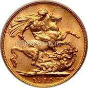 Canada Sovereign (Edward VII) KM# 14 B.P. coin reverse