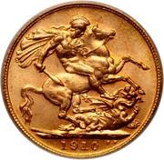 Canada Sovereign (Edward VII) KM# 14 B.P. coin reverse