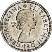 UK 10 Cents Elizabeth II (Decimal Pattern) 1961 KM# Pn142 ELIZABETH∙II∙DEI∙GRATIA∙REGINA + coin obverse