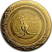 Australia 15 Dollars Australian Kangaroo (Chinese Privy) 2014 AUSTRALIAN KANGAROO 2014 1/10OZ 9999 GOLD P coin reverse
