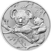 Australia 2 Dollars Koala - Mother & Baby 2018 P AH coin reverse