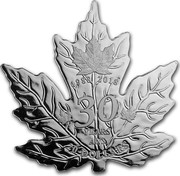 Canada 20 Dollars 30th Anniversary of the Silver Maple Leaf 2018 1988 2018 30 YEARS ANS 20 DOLLARS coin reverse