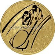 Russia 200 Roubles 2010 Proof Y# 1263 REFORM COINAGE coin obverse