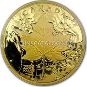 Canada 2500 Dollars (Sugar Maple Majesty) CANADA 2500 DOLLARS 2018 coin reverse