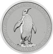 Australia 30 Dollars Australian Antarctic Territory - Emperor Penguin 2018 P UNC 2018 EMPEROR PENGUIN AUSTRALIAN ANTARCTIC TERRITORY P JM coin reverse