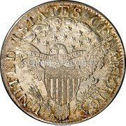 USA 5 Dollars (Capped Bust (Mule Pattern)) UNITED STATES OF AMERICA E PLURIBUS UNUM coin reverse
