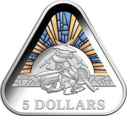 Australia 5 Dollars Land / Sea & Air 2018 Proof 5 DOLLARS AS coin reverse