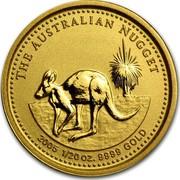 Australia 5 Dollars The Australian Nugget 2005 THE AUSTRALIAN NUGGET 2005 1/20 OZ. 9999 GOLD coin reverse