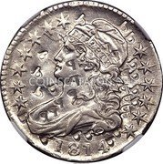 USA 50 C (Capped Bust Platinum Pattern)  LIBERTY 1814 coin obverse