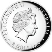 Australia 8 Dollars Australian Koala 2018 P High Relief Proof ELIZABETH II AUSTRALIA ∙ 8 DOLLARS ∙ IRB coin obverse