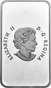 Canada 8 Dollars Chinese Blessings 2018 ELIZABETH II D. G. REGINA coin obverse