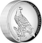 Australia 8 Dollars Wedge-Tailed Eagle 2016 AUSTRALIAN WEDGE-TAILED EAGLE 2016 5OZ 999 SILVER coin reverse