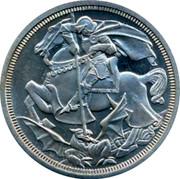 UK Crown Edward VII Pattern ND - coin reverse