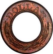 USA Dollar Pattern 1852 About a dozen known DOLLAR coin obverse