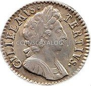 UK ½ Penny (William III (Date in Legend))  coin obverse