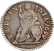 UK ½ Penny (William III (Date in Legend))  coin reverse