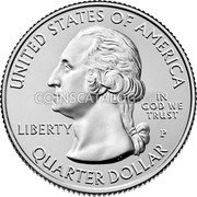 USA Quarter Dollar (Apostle Islands)  UNITED STATES OF AMERICA LIBERTY IN GOD WE TRUST QUARTER DOLLAR coin obverse