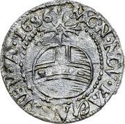Russia 1 Rouble BI chekhs 1686 ∙I∙A∙P∙A∙D G C∙&∙M∙D∙T∙M∙&∙P S A R∙A∙ coin reverse