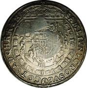 Russia 1 Yefimok Countermarked over Poland Sigismund III Thaler 1630 1655  SAM LIV NEC NO SVE - GOT VAD Q HR REX coin reverse