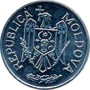 Moldova 10 Bani 2003 KM# 7 Decimal Coinage REPUBLICA MOLDOVA coin obverse