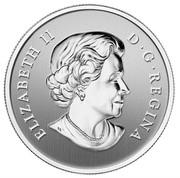 Canada 10 Dollars Year of the Snake 2013 Proof KM# 1299 ELIZABETH II D • G • REGINA SB coin obverse