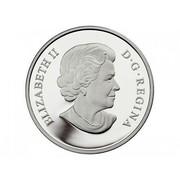 Canada 15 Dollars Year of the Snake 2013 Proof KM# 1358 ELIZABETH II D∙G∙REGINA coin obverse
