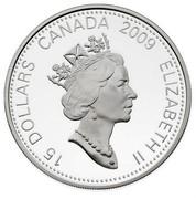 Canada 15 Dollars Zodiac Series - Year of the Ox 2009 KM# 866 15 DOLLARS CANADA 2009 ELIZABETH II coin obverse