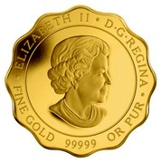Canada 150 Dollars Blessings of Peace 2013 Proof KM# 1437 ELIZABETH II D∙G∙REGINA ∙ FINE GOLD 99999 OR PUR coin obverse