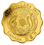 Canada 150 Dollars Blessings of Peace 2013 Proof KM# 1437 150 DOLLARS 2013 CANADA AC coin reverse
