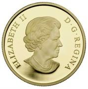 Canada 150 Dollars Year of the Rabbit 2011 Proof KM# 1054 ELIZABETH II D∙G∙REGINA coin obverse