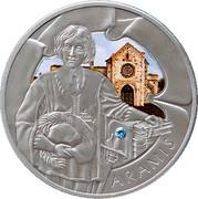 Belarus 20 Roubles Aramis 2009 Antique finish KM# 243 ARAMIS coin reverse