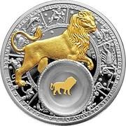 Belarus 20 Roubles Leo 2013 Proof KM# B512 LEO coin reverse