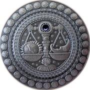 Belarus 20 Roubles Libra 2009 Matte Proof KM# 210 coin reverse
