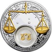 Belarus 20 Roubles Libra 2013 Proof KM# D512 LIBRA coin reverse